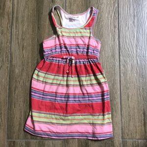 Gap Multicolored Striped Tank Dress in 3t